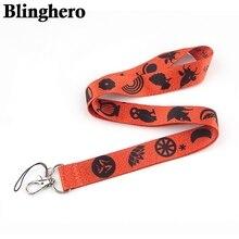 CA1363 percy jackson Camp demi-sang cou lanière porte-clés téléphone sangle ID Badge porte-corde porte-clés sangle accessoires de travail
