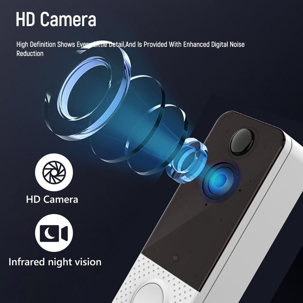 EKEN Night Vision IP Door Bell Camera Video 1080P WIFI Waterproof  IP67 Visual Intercom  PIR Smart Wireless Doorbell Camera enlarge