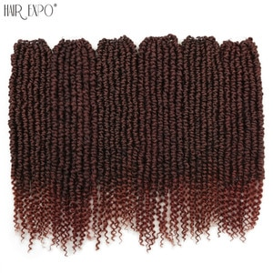20inch Passion Twist Crochet Braids Hair Chunky Synthetic  Wig Extensions Bohemia Style For Women 14Stands/Pack