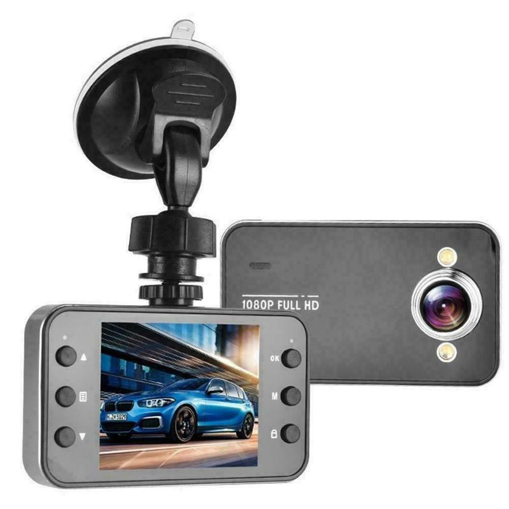 K6000 In CAR DVR Compact Camera Full HD 1080P Recording Dash Cam Camcorder Motion