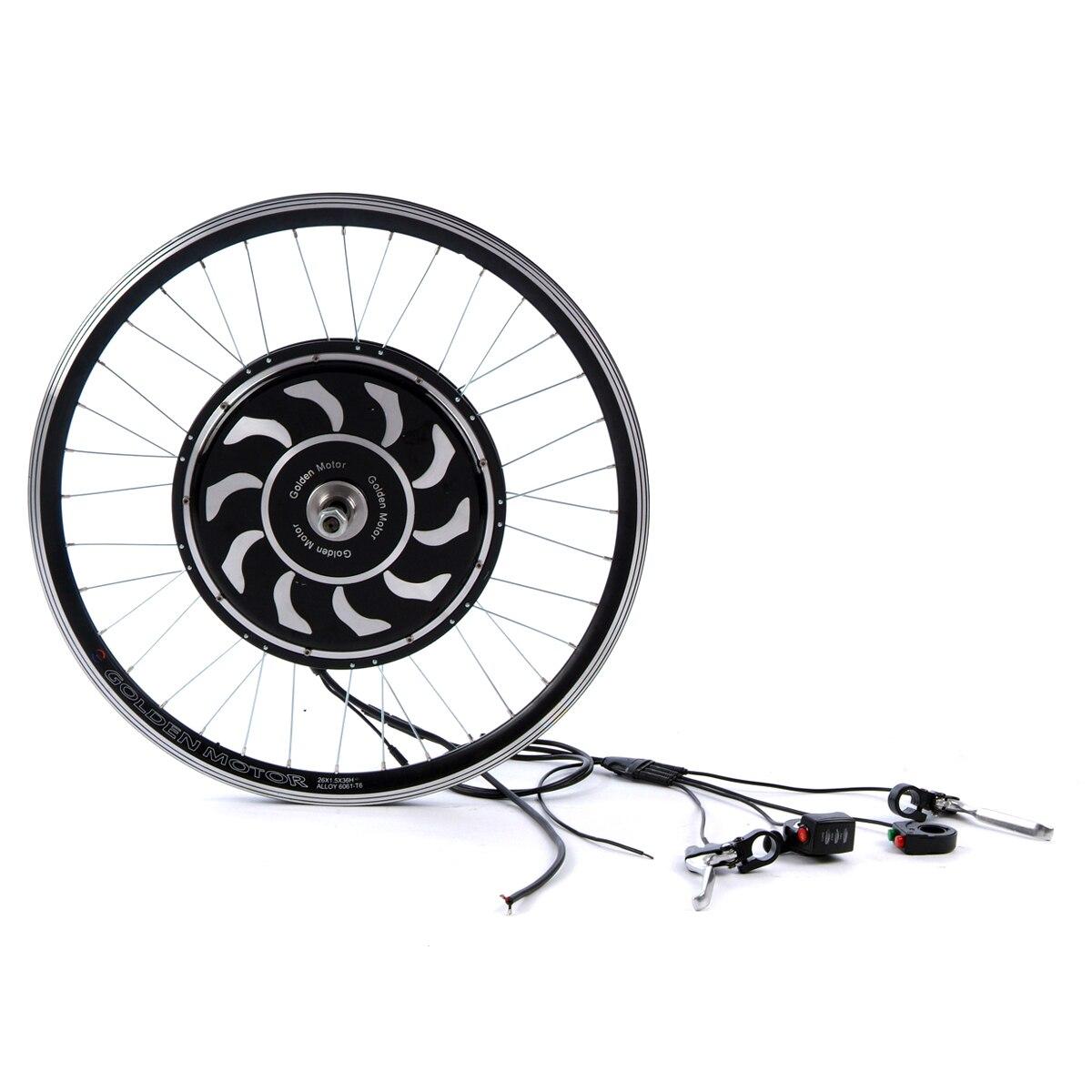 ماجيك فطيرة 5 مجموعة تحويل الدراجة العاديّة إلى كهربائيّة مع المدمج في تحكم حافة حجم 20