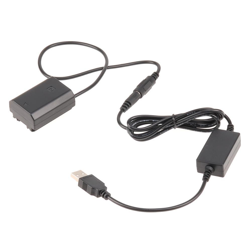 NP-FZ100 الدمية بطارية DC المقرنة 5V 2A USB كابل لسوني A9 A7R3 A7M3 A7III A7R4 A7M4 A6600
