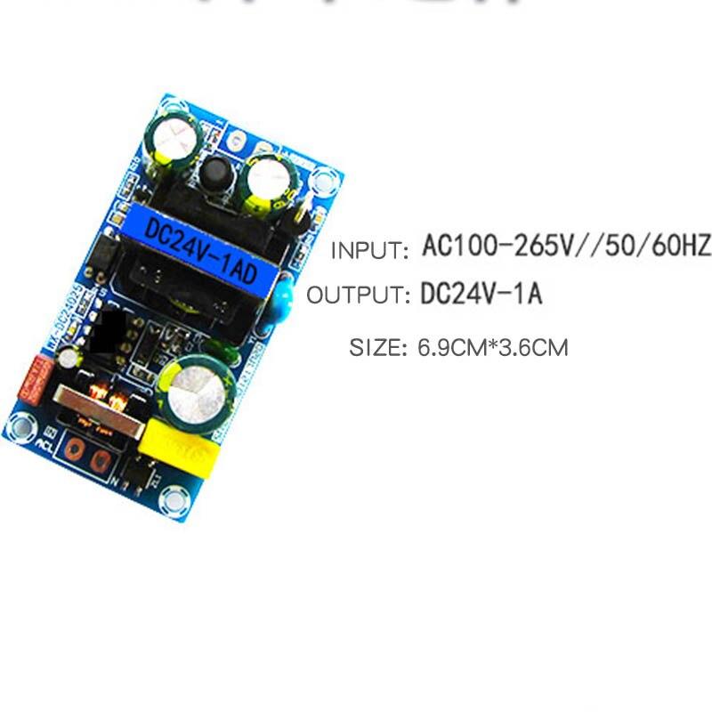 24v1a módulo de placa de alimentação de comutação placa nua 24v24w25w módulo de potência AC-DC