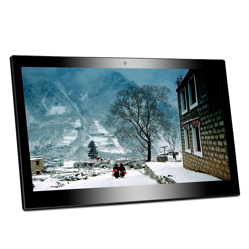 Soporte VESA RK3399 en pared tableta android 8,1 10 pulgadas con RJ45 POE