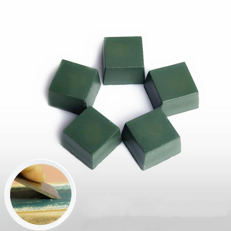 1Pc Abrasives Paste DIY Polishing Paste Green Alumina Fine Abrasive Buff Metal Jewelry Knife Blade Compound Polishing 30g 30x30