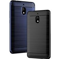 Чехол из углеродного волокна для Nokia 2,1, 2, 3, 5, 6, 2017, Силиконовый противоударный чехол для Nokia X5, X6, X7, X71, задняя крышка, бампер