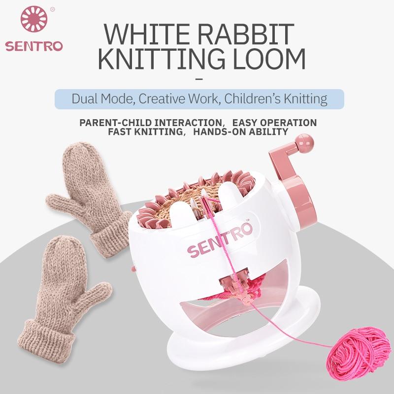 Automatic Knitting Machine Knitting Children's Hats Female Full-Automatic Vibrato Yarn Manual Diy Scarf Knitting Artifact