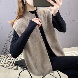Room 195131, under the 4 row 4 】 make spring sleeveless zipper vest vest cardigan [1128] 54