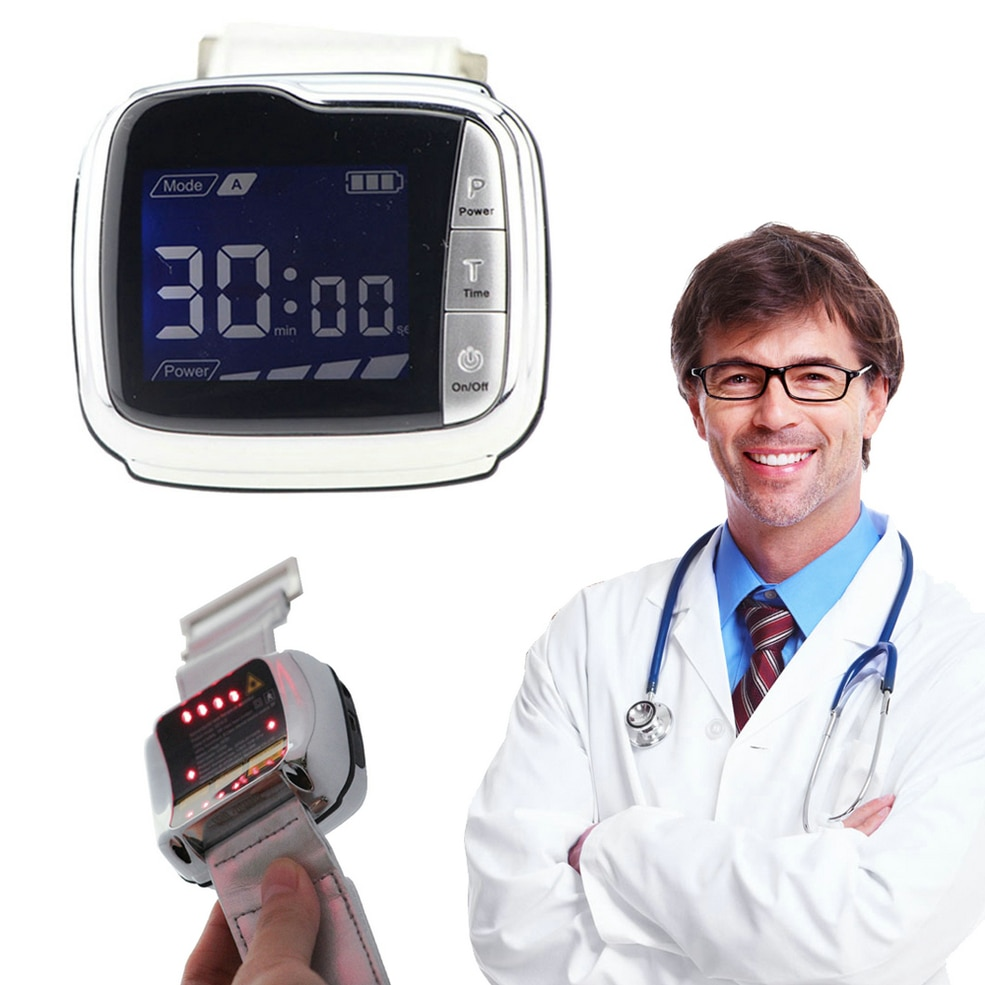 Instrumento terapéutico láser Semiconductor instrumento de sangre láser insomnio fisioterapia arterial azúcar en sangre lípidos de sangre