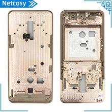 Средняя рамка средняя пластина крышка Замена для Samsung Galaxy A80 6,7