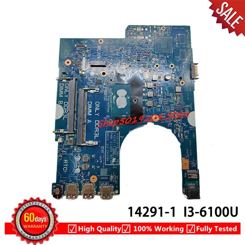 لديل 3470 3570 اللوحة المحمول CN-0P5M6K 0P5M6K P5M6K مع SR2EU I3-6100U 14291-1 اللوحة 100% العمل جيدا