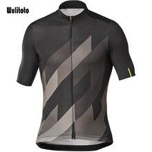 Wulitoto Outdoor Zomer Snelweg Korte Mouwen Mtb Quick Dry Fietsen Sport Jersey Voor Mannen Fiets Top Shirt