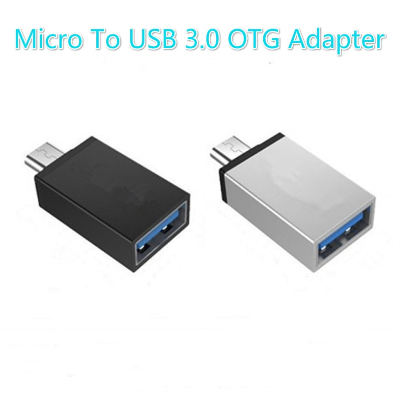 Adapter For Micro To USB 3.0 Android OTG Adapter Converters Accessories For Mobile Phone Tablet PC M
