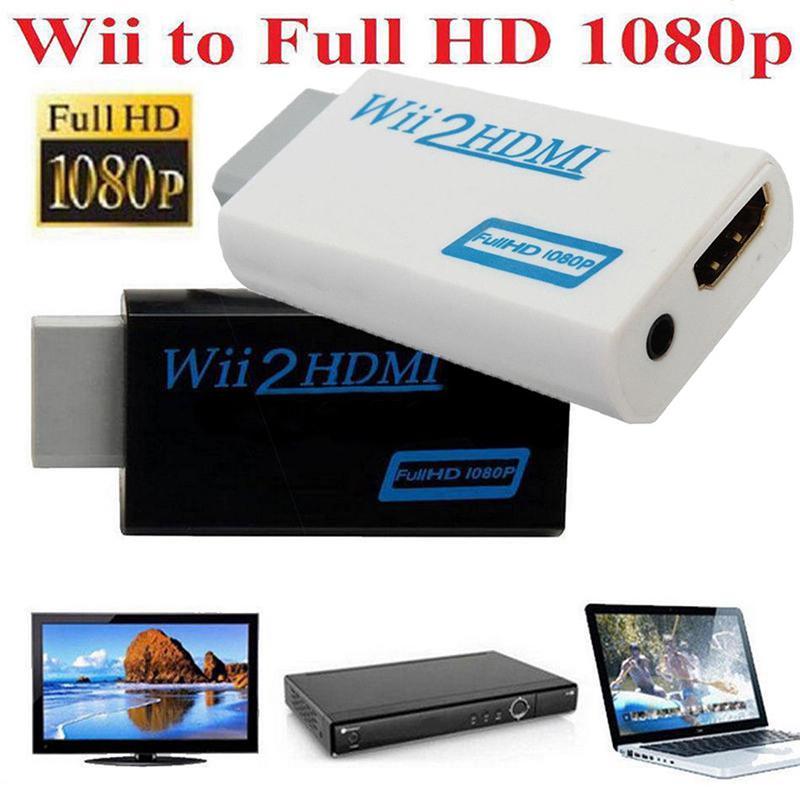 Адаптер преобразователя видео 720P 1080P Full HD HDTV для Wii в HDMI USB-адаптеры      АлиЭкспресс