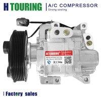 ac compressor For Car Mazda 6 2.0L 2.3L 2003-2008 GJ6A-61-K00A GJ6A-61-K00B GJ6A-61-K00C  GJ6A-H12A1AF4DV H12A1AF4DW H12A1AK4D
