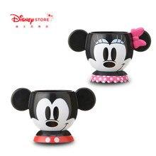 180ml Disney Mickey Minnie Water Cup Coffee Tea Ceramic Mug For Children Water Glass Milk Cup X4701