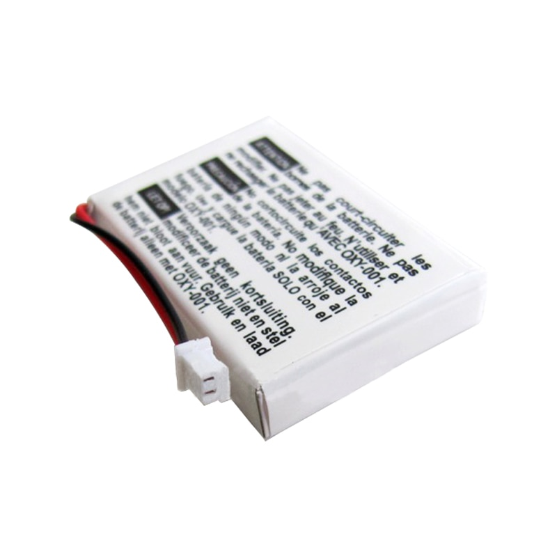 2Pcs 460mAh 3.8V Rechargeable Lithium-ion Battery Pack Kit for Nintendo GBM Game Boy Micro Batteries with screwdriver OXY-003 enlarge