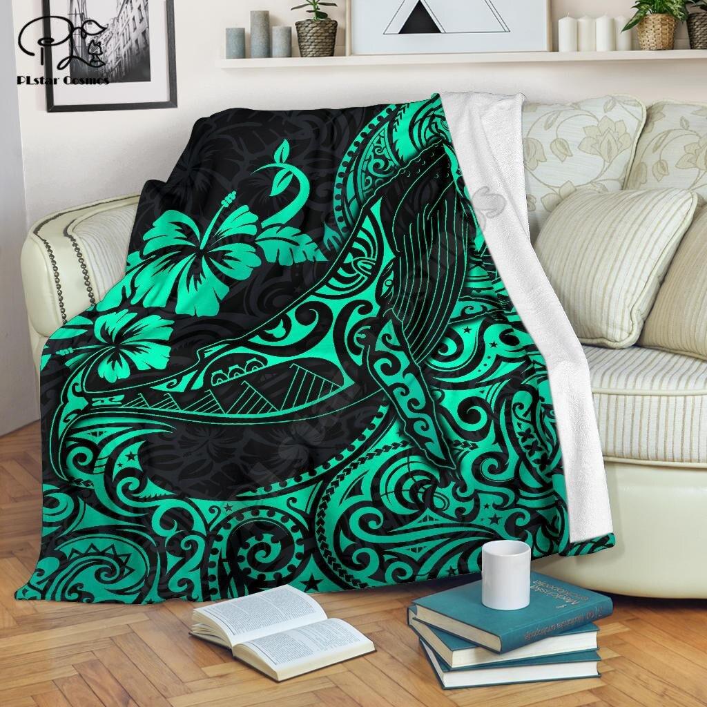 الفيروز الحدباء الحوت البوليستر نمط بطانية ثلاثية الأبعاد طباعة Sherpa بطانية على السرير المنسوجات المنزلية دريم اكسسوارات المنزل