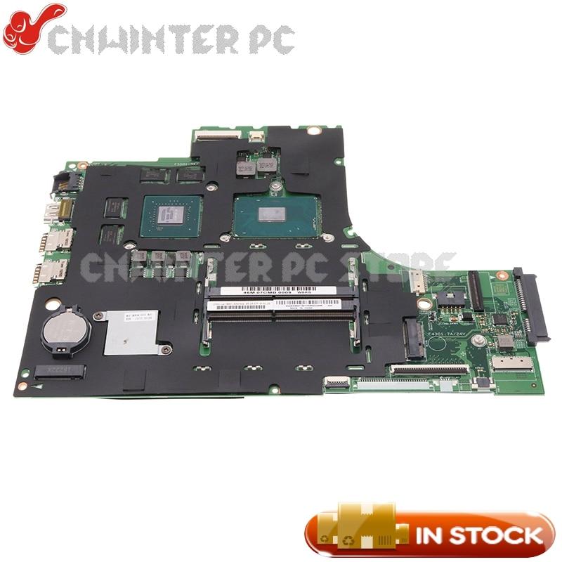 NOKOTION لينوفو IdeaPad 700-17ISK اللوحة المحمول 5B20M07198 448.06R01.001M 448.06R01.0011 SR2FQ I7-6700HQ CPU GTX950M