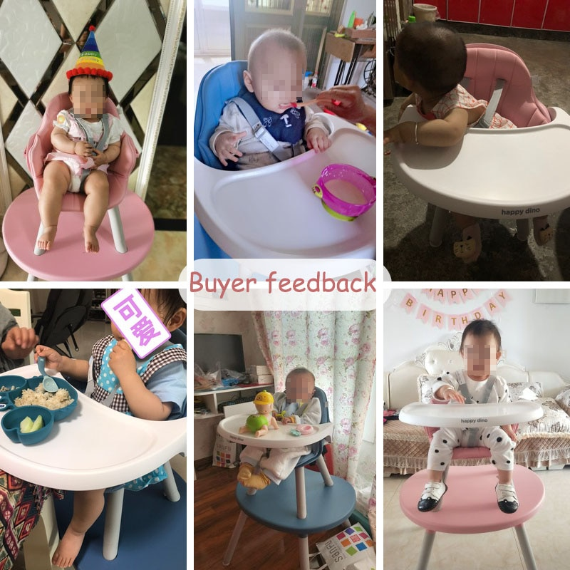 Babyinner Baby Dining Chair Kids Booster Seats Toddler Feeding Highchairs Home Multi-function Table and Chair Combination enlarge