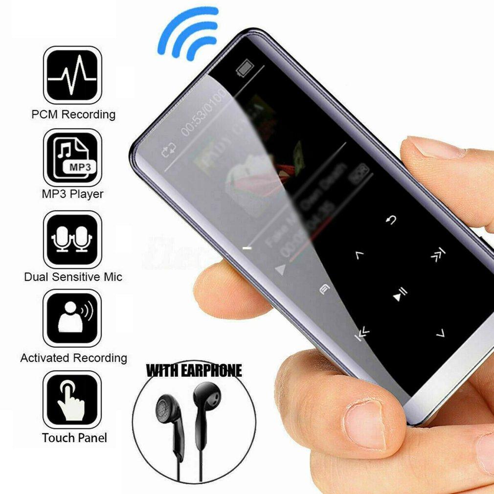 Multifunction HiFi MP3 Player with Bluetooth-compatible Speaker Touch 8/16GB Card Mini Portable Walkman FM Radio/Recording reproductor hifi mp3 player bluetooth with headphones fm radio e book reading mini usb music player audio lecteur mp 3 walkman