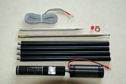 PAC-12, 7MHz-50MHz, 100W, Multi Banda, HF, onda corta, GP, antena QRP para Ham Radio