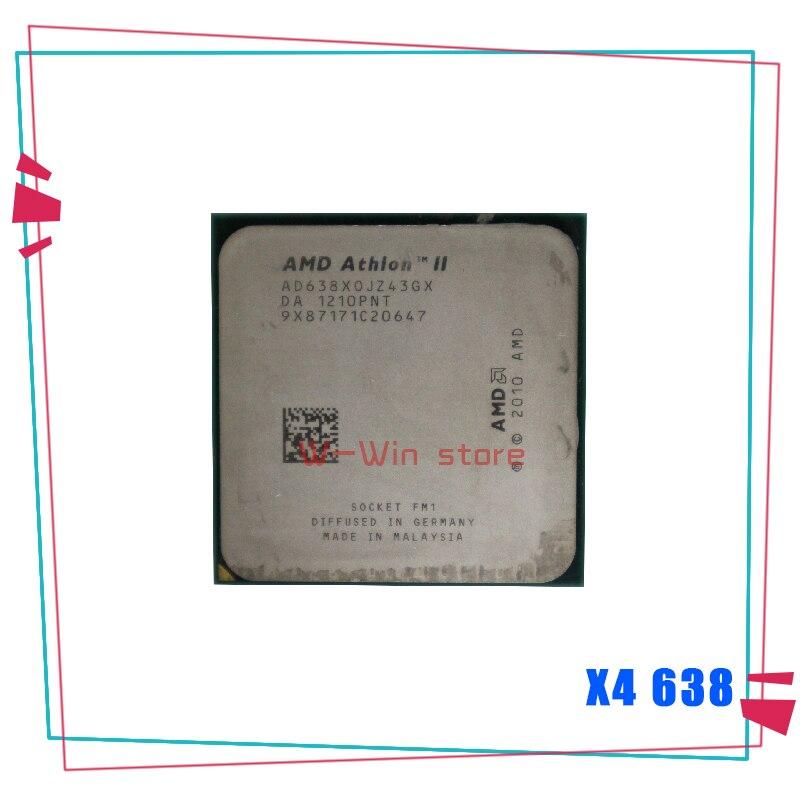 Четырехъядерный процессор AMD Athlon II X4 638 2,7 ГГц, процессор AD638XOJZ43GX Socket FM1