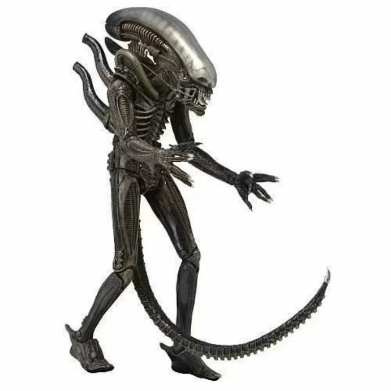 """Toyspark, figura de acción de Alien War de 7 """", figura de guerrero de hierro 1979, colección de carcasa cerebral transparente, modelo de juguete de decoración de la vida"""