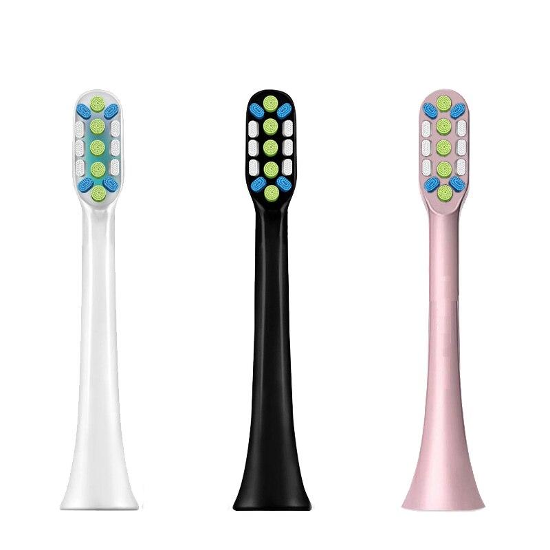 Cabezales de cepillo de dientes eléctrico ultrasónico de alta densidad para Xiaomi Mijia SOOCAS X3 X3U X5