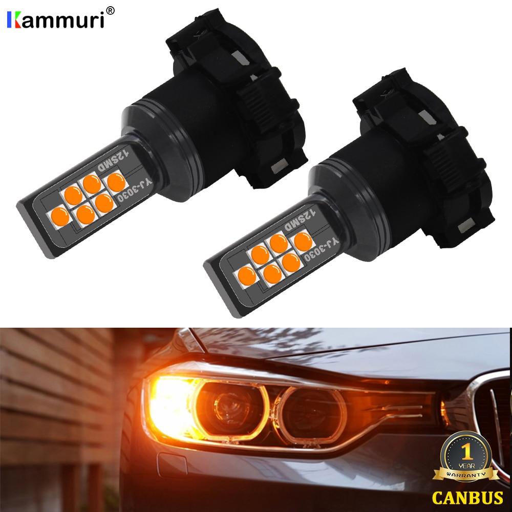 Canbus-ampoule PY24W PSY24W   SAMSUNG 2010 DRL pour Range Rover Sport 2012-, pour BMW E90 E91 E92 E93, 2