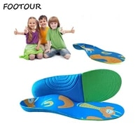 footour kids orthopedic insoles correction care children orthotics insoles flat foot arch support child shoe insole pads sole