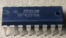 74LS145 SN74LS145N BCD DIP-16