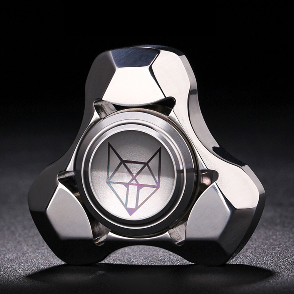 Fidget Spinner Anti-Stress Toys High-end product Spinner Stainless Steel hand spinner matel with EDC Hand Spinner surprise Gift enlarge