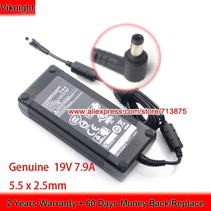 Genuino ADP-150TB B 19V 7.9A 150W adaptador de CA para HIPRO GS70 2PE HP-A1501A3B1 fuente de alimentación RC30-0099