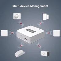Sonoff     capteur de mouvement ZigBee Bridge Gateway  1 Kit  fonctionne avec Alexa Google Home eWeLink pour maison intelligente