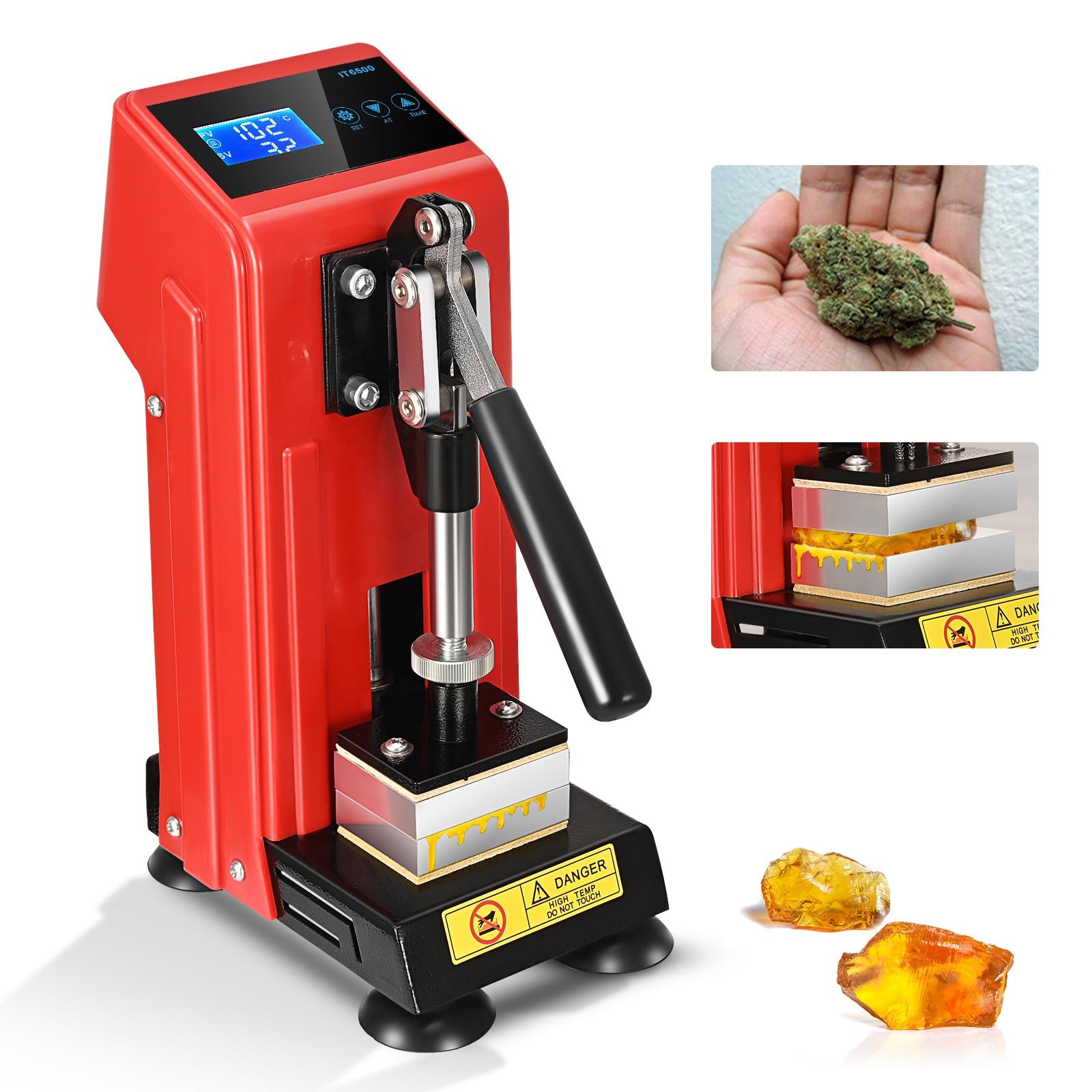 220 فولت روزين الصحافة آلة تعديل الضغط آلة درجة الحرارة التحكم لوح تسخين الشمع التركيز النفط استخراج النازع أداة
