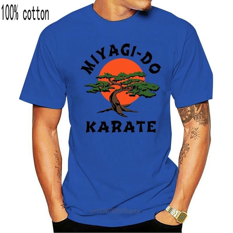 New Mirage Dojo Karate Kid Film Funny Martial Art Retro Men T Shirt Top Tee T Shirt Cotton Men Short Sleeve Tee Shirts Tops Tshi