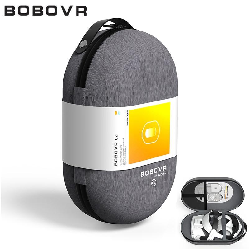 BOBOVR C2 Carrying Case For Oculus Quest2 Shockproof EVA Storage Bag Protection Travel Box Compatibl