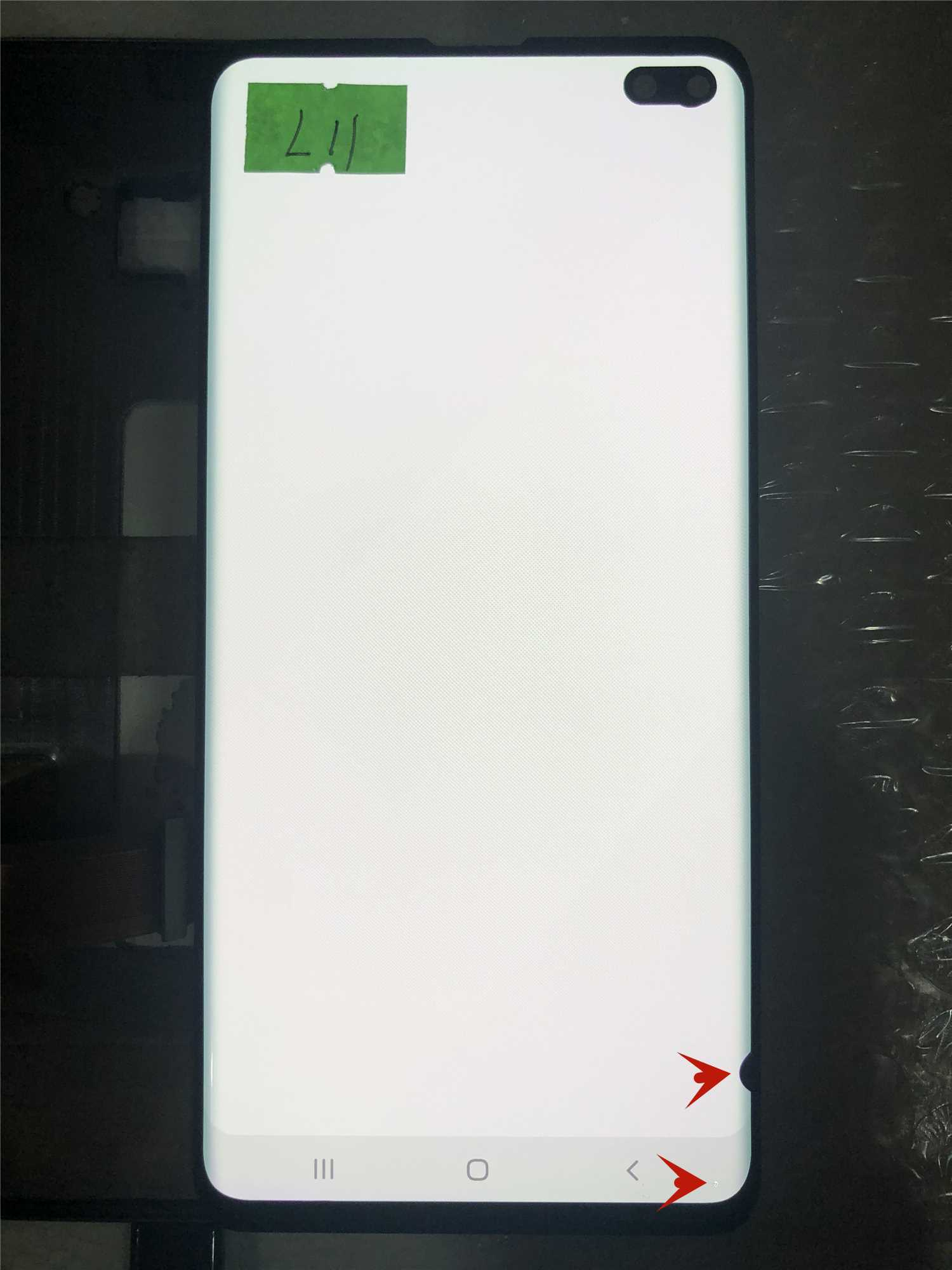 Original Super AMOLED Display Touch screen For Samsung Galaxy S10+ G975F S10PLUS G975U LCD Display With lines or dots enlarge