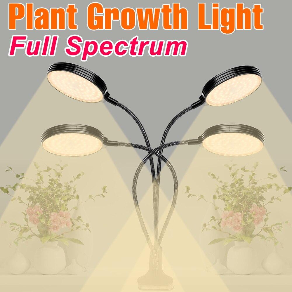 5V светодиодный Grow светильник USB Фито лампа Sunlike полный спектр расти палатку Phytolamp гидропоническая посадка рассады Гроу тенты для коробка 2835