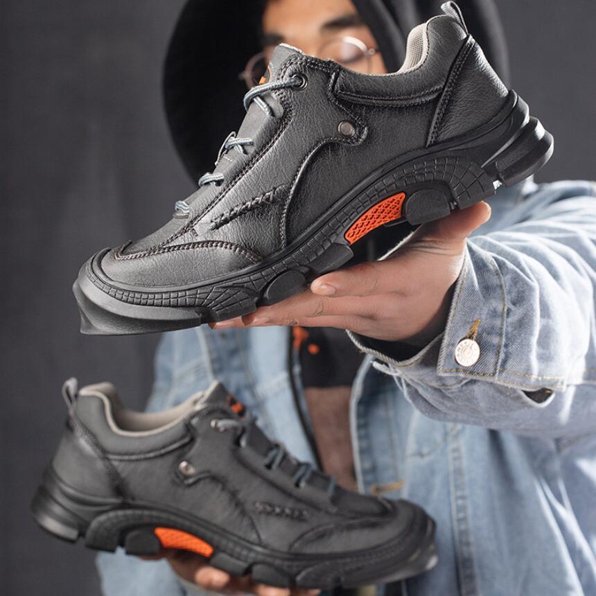 FJ20-Zapatos transpirables con punta De acero para Hombre, calzado De Seguridad Indestructib,...