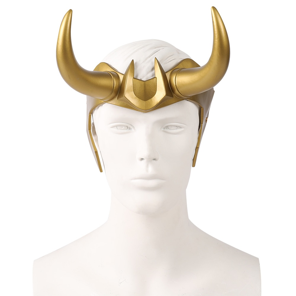 Loki Superhero Sylvie Movie Cosplay Costume PVC Mask Adult Helmet Props Halloween darth vader helmet the black series cosplay adult helmet premium pvc helmet prop for adult