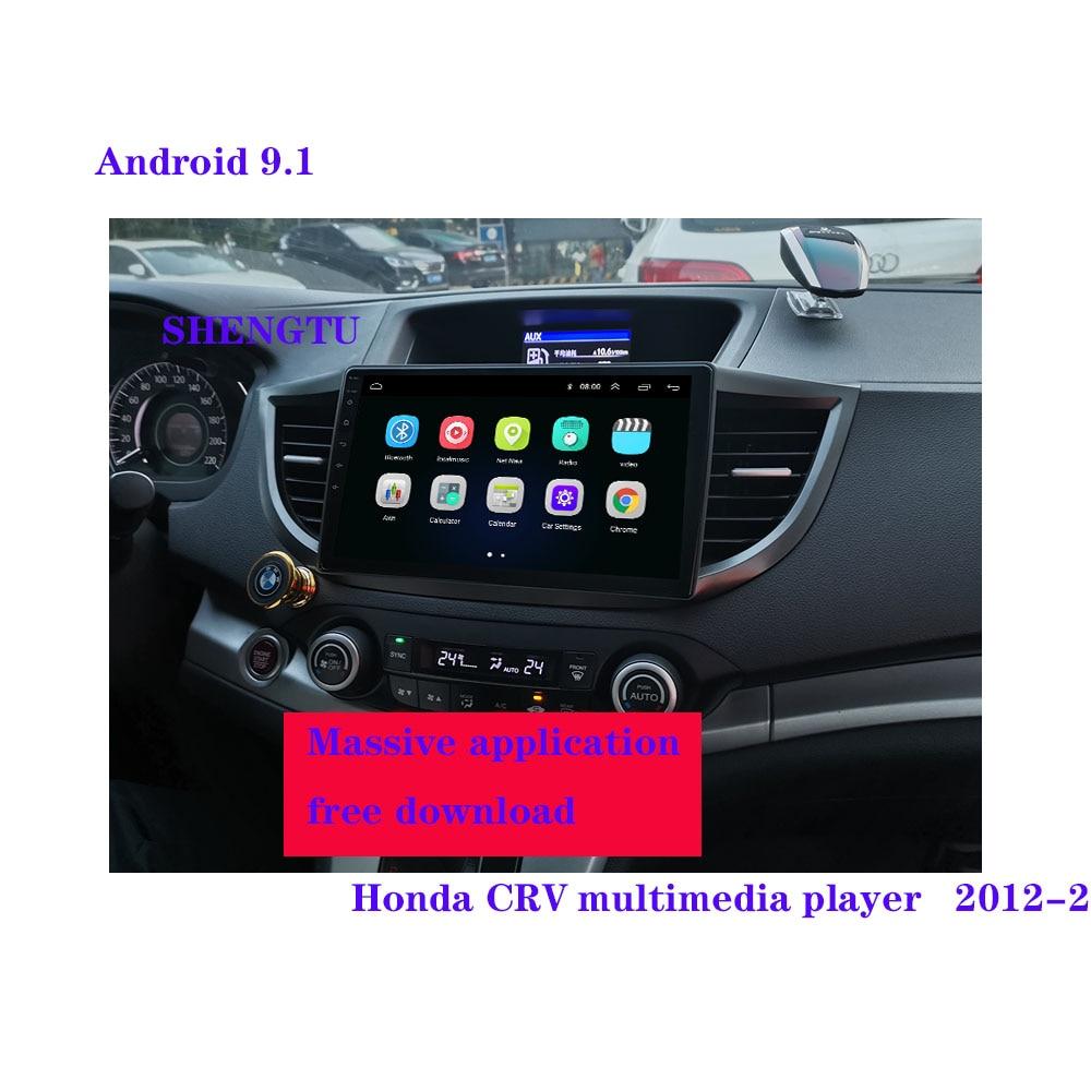 For Honda CRV CR-V 4 RM RE 2011-2015 Car Radio Multimedia Video Player Navigation GPS Android 9.1No 2din 2 din dvd 2012 13 14 15