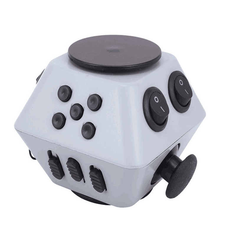 Stress Relieve Decompression Cube Combination Stress Upgraded 3 Antistress Magic Anti Stress Relieve Anxiety Boredom Finger Toy enlarge