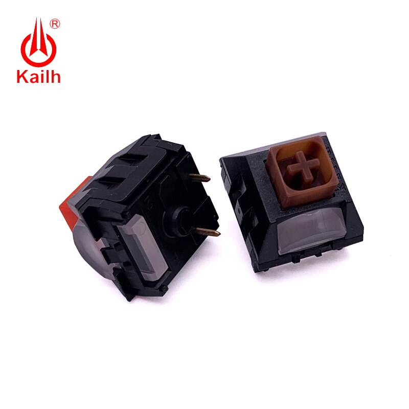 Kailh light pipe switch  Mechanical keyboard switch  tactile/linear handfeel 3pins enlarge
