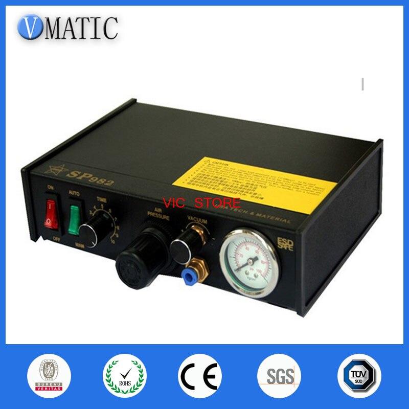 Free Shipping 220V Auto Glue Dispensing Solder Paste Liquid Controller Dropper SP982 Glue Dispensing Machine