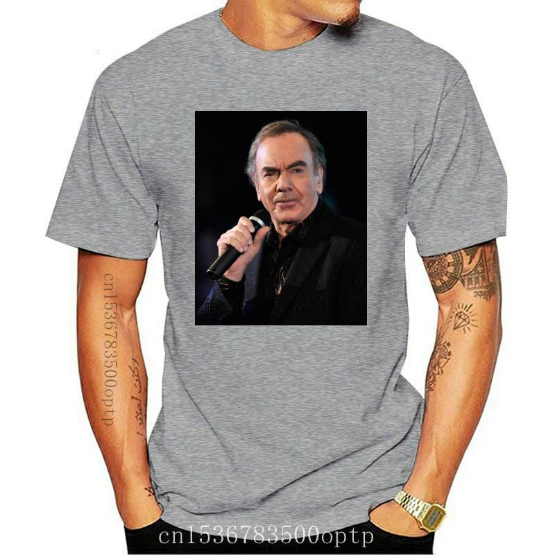 New Neil Diamond Cracklin Rose t Shirt