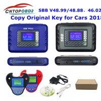 SBB PRO2 Key Programmer V48.99 V48.88 V46.02 Mini Zed-Bull Transponder Chip Key Cloner ZEDBULL OBD2 Key Maker cover most of cars