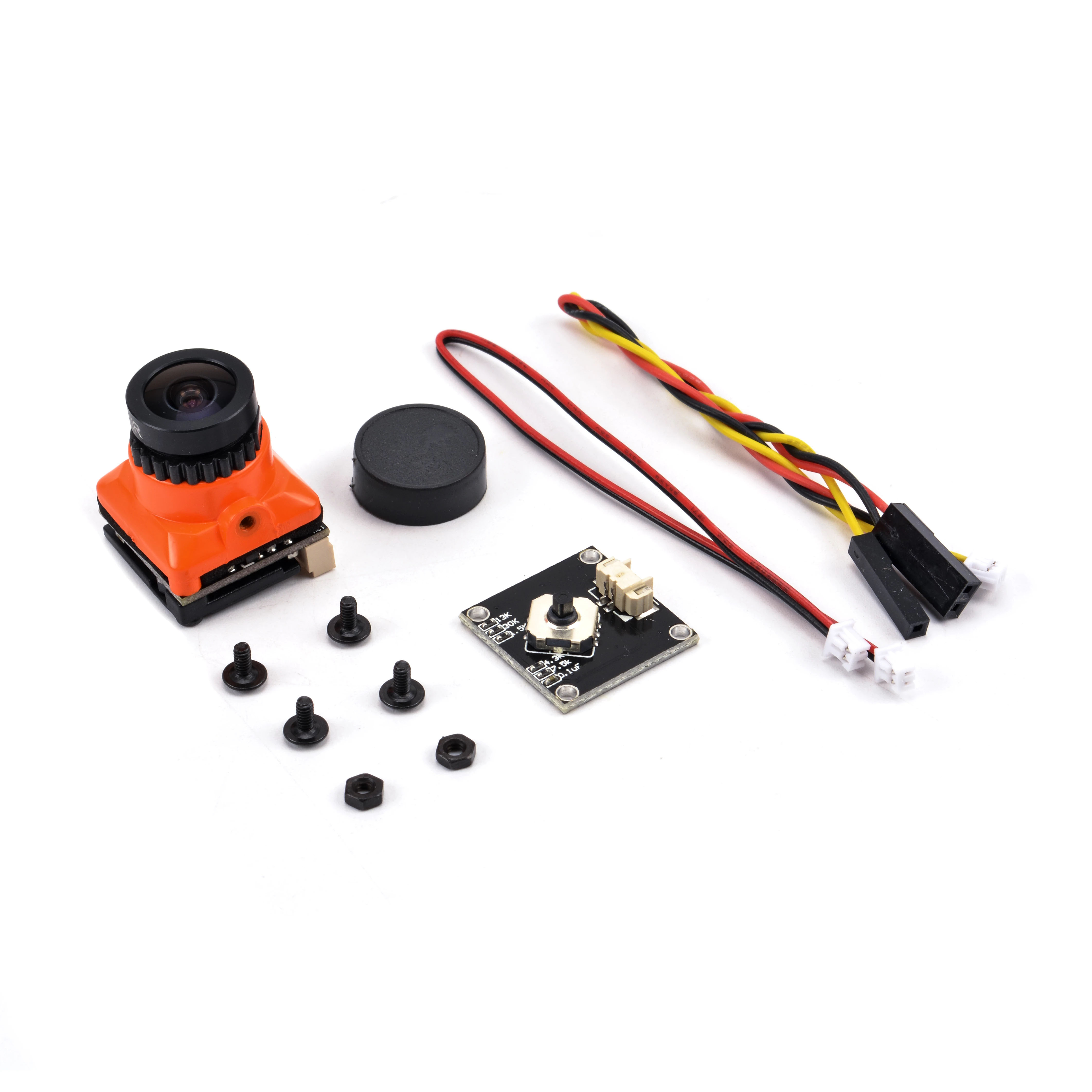 كاميرا صغيرة FPV 1/3 CMOS 1500TVL B19 ، lente de 2,1 مللي متر PAL / NTSC مع OSD دي فاونسيا إنتر قابل للتعديل 5V-30 الفقرة درون دي كاريرا