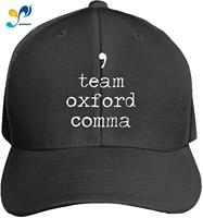 customized unisex team oxford comma trucker baseball cap adjustable peaked sandwich hat